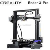 CREALITY 3D Ender 3 PRO 3d принтер Модернизированный Cmagnet сборная пластина возврат сбоя питания печать DIY комплект средняя мощность питания