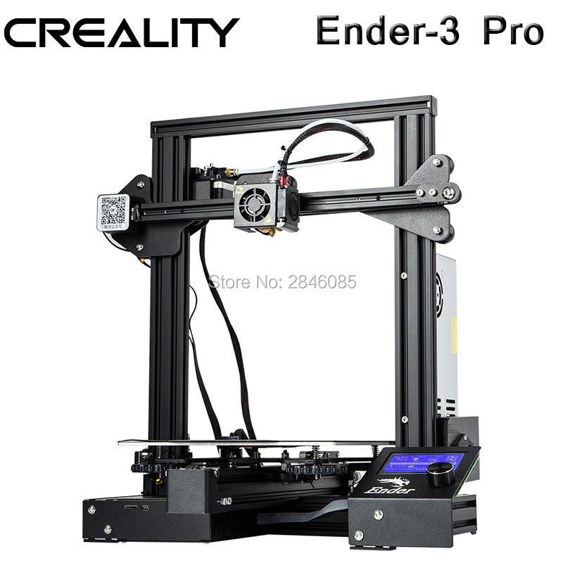 Creality 3D Ender-3 PRO 3D Drucker Verbesserte Cmagnet Bauen Platte Lebenslauf Stromausfall Druck DIY KIT MeanWell Netzteil
