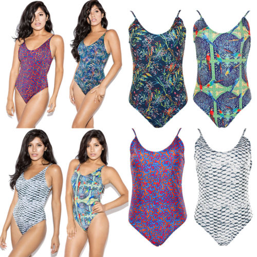Black Friday Deals New 2018 Summer Women Floral One Piece Monokini Push Up Padded Bikini ...