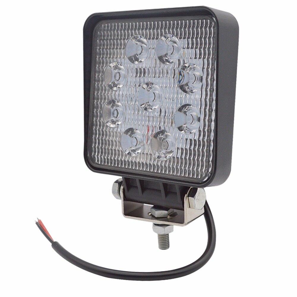 4PCS Λυχνία εργασίας LED 4 ιντσών 27W Λάμπα - Φώτα αυτοκινήτων - Φωτογραφία 6
