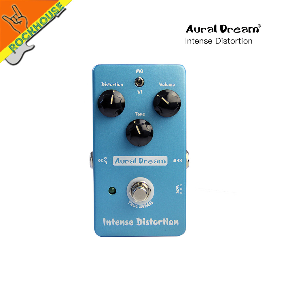 Aural Dream Electric Guitar Distortion Effect Pedal Tube Distortion Guitarra Pedal Brown Sound True Bypass Free Shipping aroma atp 3 tube pusher valve combo simulator electric guitar effect pedal true bypass guitarra part