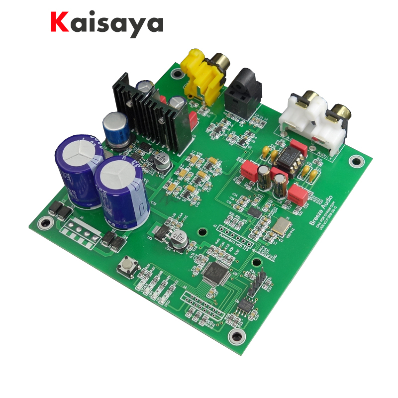New ES9038 Q2M I2S DSD Decoder Coaxial Fiber input DAC decoding board For audio hifi amplifier 2018 tda7492 bluetooth amplifier fiber optic coaxial usb dac decoding amplifier 50w 50w hifi amplifier