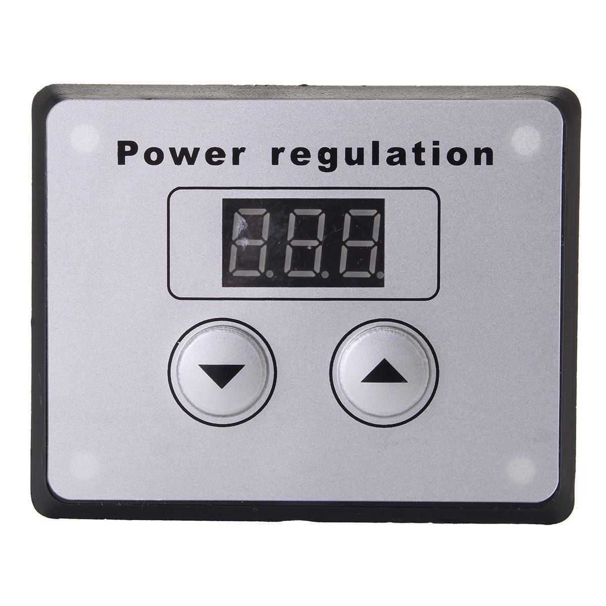 Высокое качество напряжение мощность регулятор 4000 Вт В 220 В AC SCR напряжение регулятор диммер Электрический двигатель Регулятор скорости