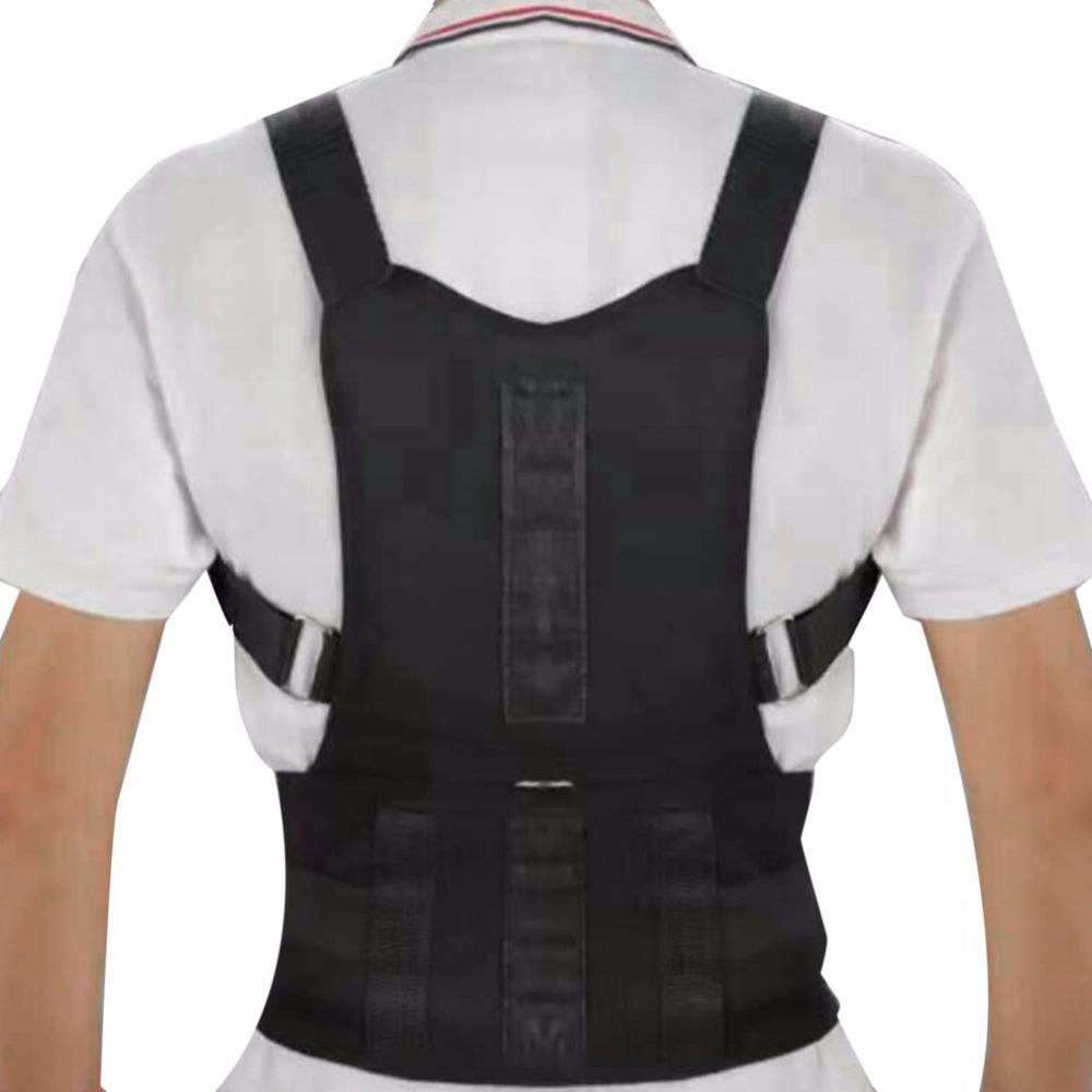Men Women Back Support Back Correction Belt Posture Correcting Band Shaping Back Curve Hump Corset Body Shaping Device S Size