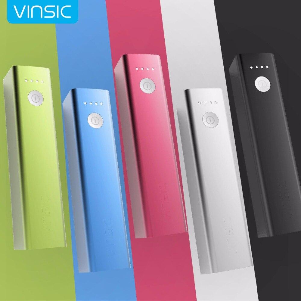 imágenes para Vinsic Mini Portátil 3200 mAh Banco de la Energía de Batería Externa Del Cargador Paquete Power Bank para el iphone Samsung Xiaomi Huawei Tablets
