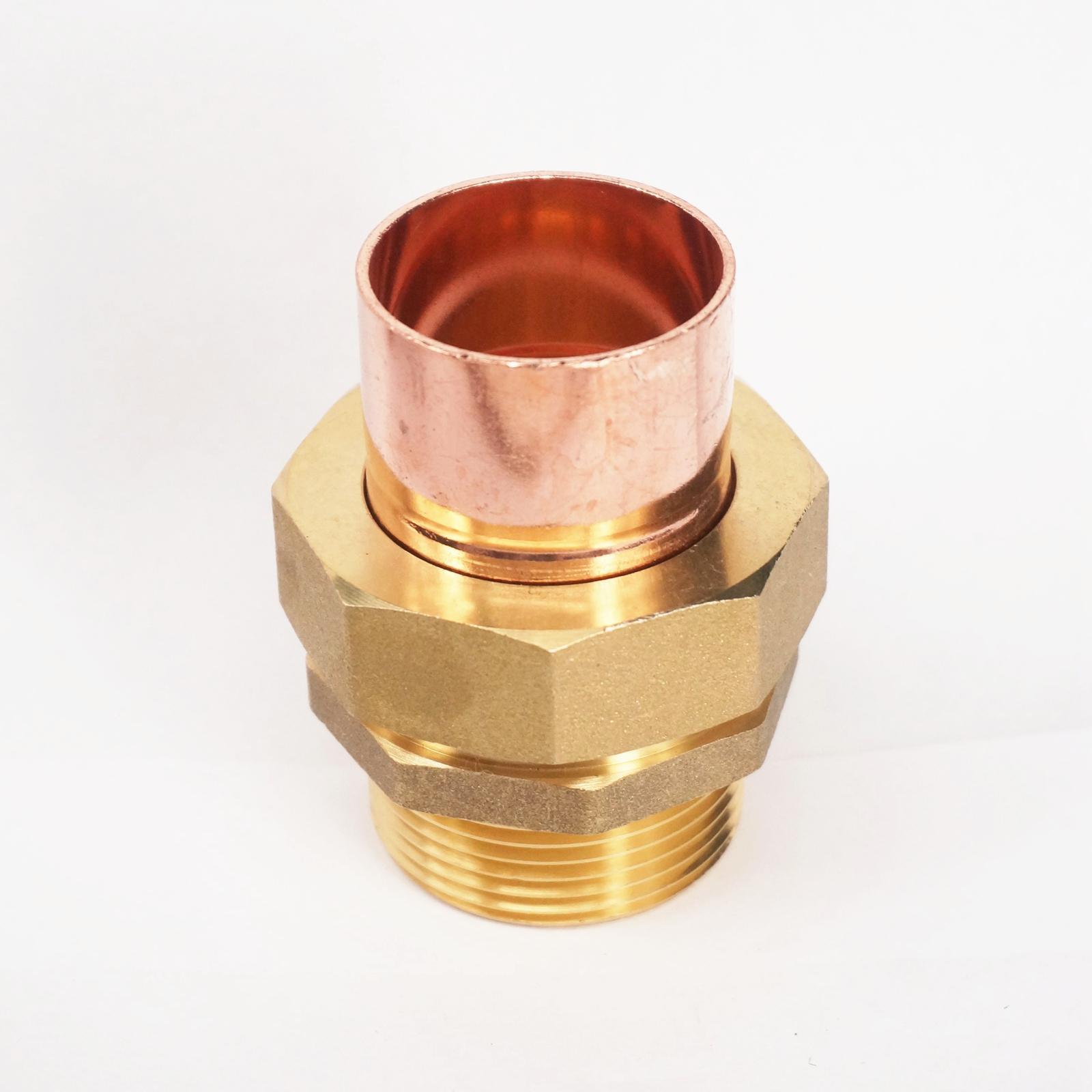 """1//2/"""" BSP x 15mm Latón Rosca Hembra Zócalo de unión a final de cobre montaje tubería de alimentación"""