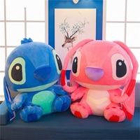 1pc 55/65/80cm Giant Kawaii Stitch Plush Doll Toys Anime Lilo And Stitch Plush Toy Children Kid Birthday Gift Baby Appease Gift