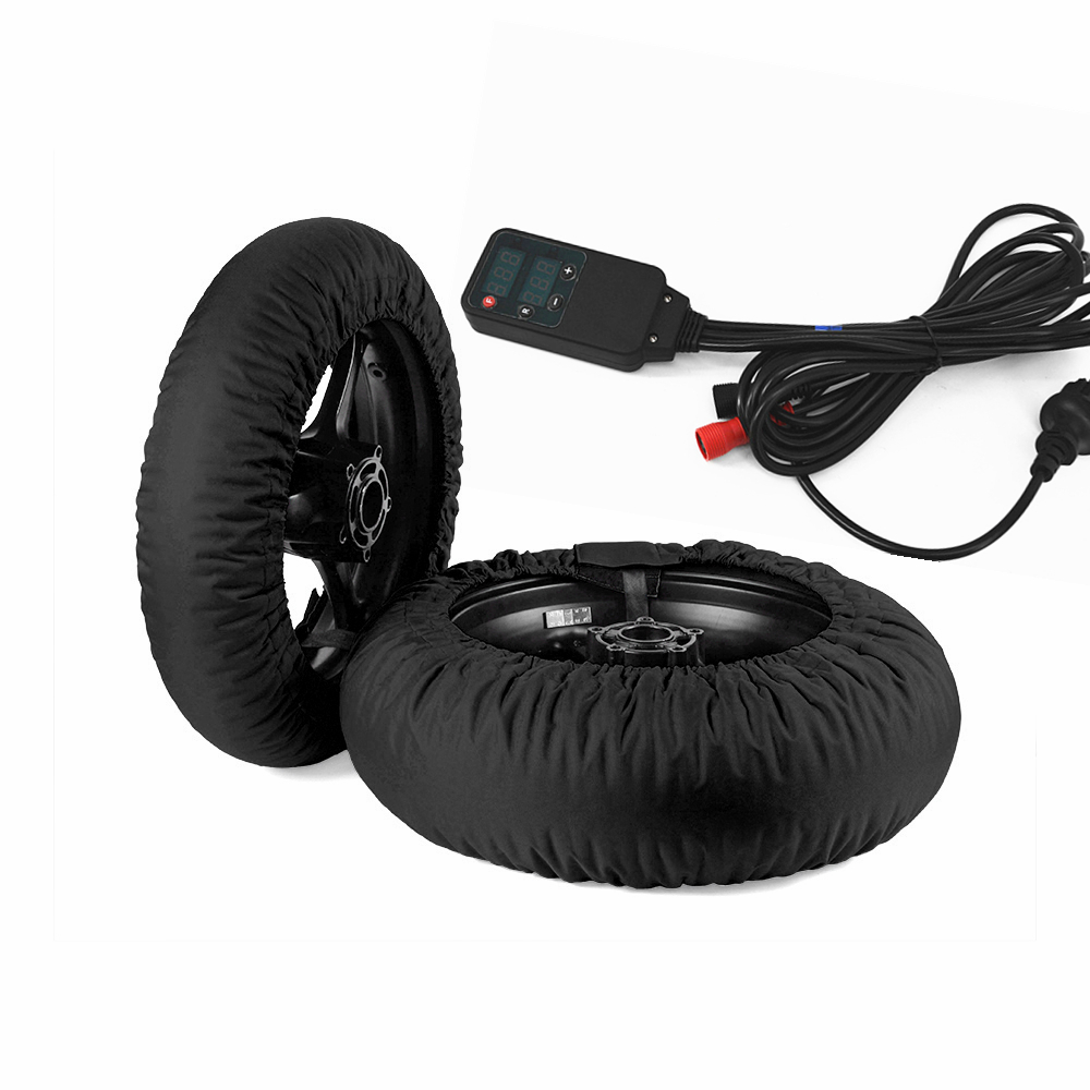 Motorcycle Racing Tire Warmer Tyre Warmer Heater Cover Fit 120/ 200 17 Front and Rear Moto Accessoresies 2018 2019