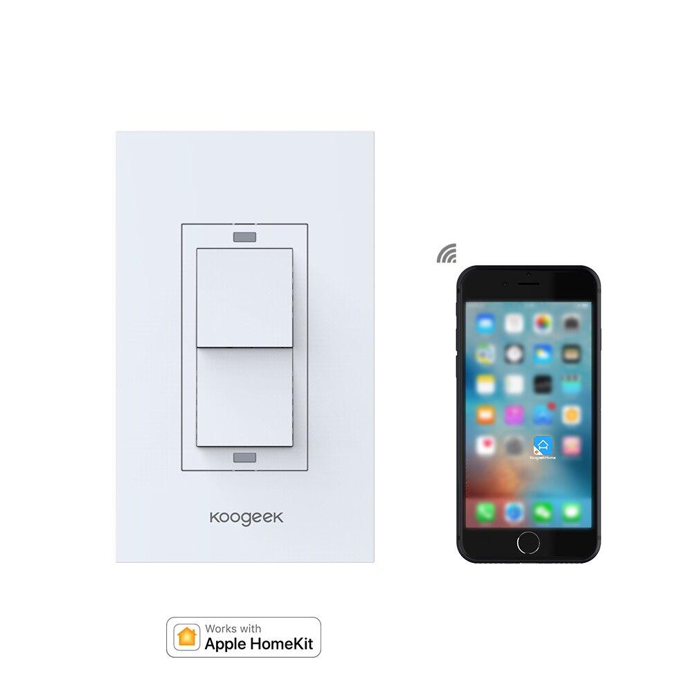 Koogeek Smart Wi Fi Aktiviert Schalter Zwei Bande Lichtschalter Für ...