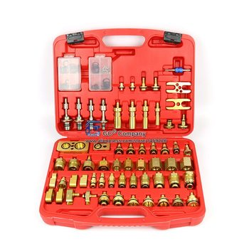 Auto Air Conditioning Leak Detection Tools check / plugging testing Connector Repair Kit for European American Car - discount item  36% OFF Auto Replacement Parts