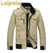 2018 Autumn Spring Jacket Men Casual Coats Middle-Aged Comfortable Jackets For Male Outerwear Plus Size Laipelar Winter Coat