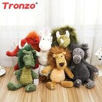Tronzo 1ピース60センチ動物ファミリーぬいぐるみぬいぐるみユニコーン/ライオン/象/ドラゴン/豚人形枕ソフト人形用ベビーキッズ卸売