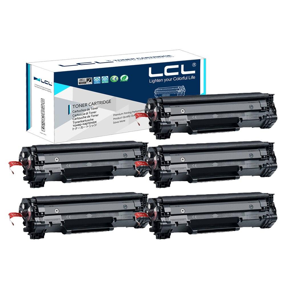 LCL CE278A 78A CE 278 Eine CE278 278A (5-pack) Schwarz Tonerkartusche Kompatibel...