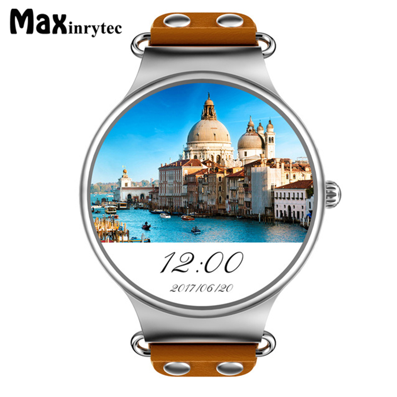 Maxinrytec KW98 Smart Watch Android 5.1 3G WIFI GPS Watch MTK6580 Smartwatch iOS Android For Samsung Gear S3 Xiaomi PK KW88 KW99