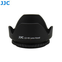 JJC العالمي القياسية عدسات تكبير هود 49 مللي متر 52 مللي متر 55 مللي متر 58 مللي متر 62 مللي متر 67 مللي متر 72 مللي متر 77 مللي متر كاميرا حامي عدسة