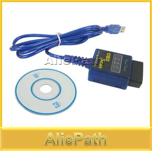 ELM327 V1.5 OBD2 OBD II Car Diagnostic Scanner USB Scan Tool CAN BUS Interface For BMW Ford Kia Mercedes Honda etc