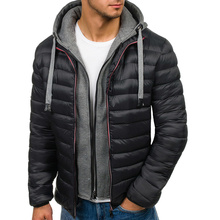 ZOGAA Mens Winter Cotton Hooded Coat Jacket Brand New Casual
