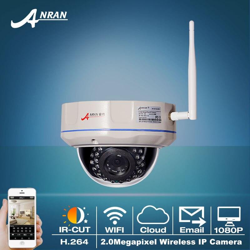 Onvif 1080P HD 30 IR Outdoor Vandalproof Dome Wireless Network IP Camera Home 2.0MP Video Surveillance WIFI Security CCTV Camera