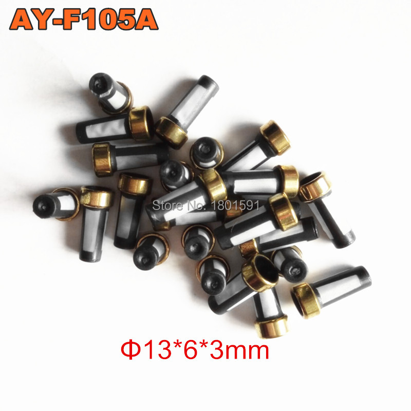 free shipping 1000pieces fuel injector filter 6 13mm for cdh275 japanese cars AY F105A