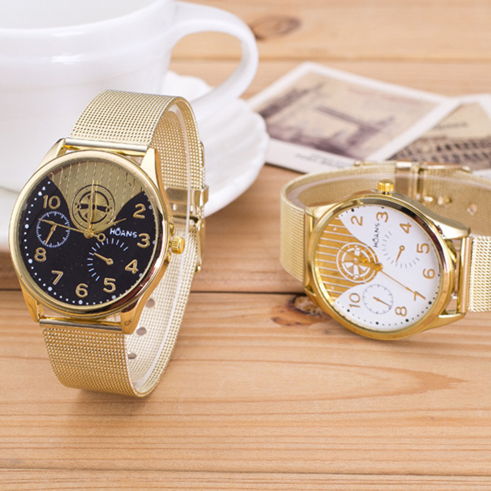 Watches women Quartz Wrist Ladies Crystal Gold Mesh Band Wrist Watch watches women fashion watch 2018 gold dignity D29