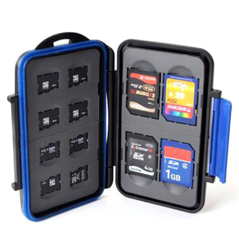 SD TF CF Memory Card Storage Case Box Protect Waterproof Anti-shock Portable Holder SL@88