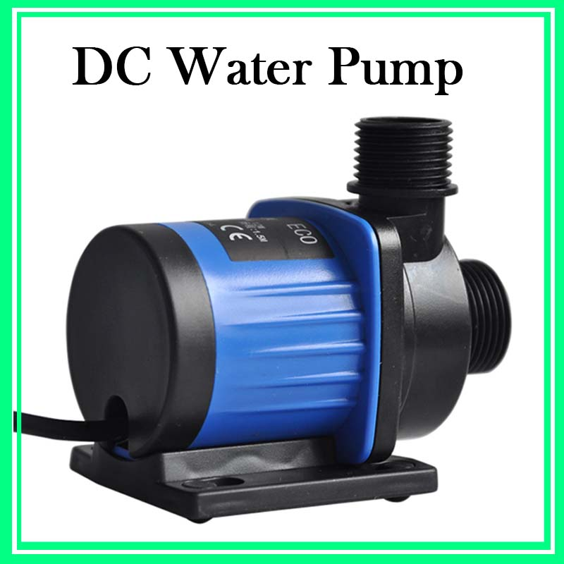 2PCS Plastic Quiet Aquarium Water Pump 24V DC Brushless Water Circulation Pump