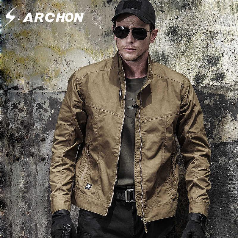 Осенняя мужская тактическая Полевая куртка-бомбер, одежда милитари, армейские куртки спецназа, осенняя Весенняя повседневная мужская Тонкая пилот Coa