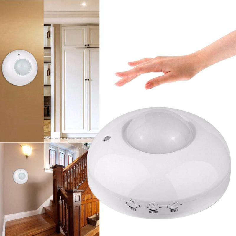 AC 110V-240V Sensitivety 360 Degree Switch Human body inductor Automatic Ceiling infrared PIR Motion Sensor LED Light Switch Z3 high quality 360 degree ceiling 110v ac 220v ac inlay sensor switch pir infrared motion sensor light lamp switch 1pc et041