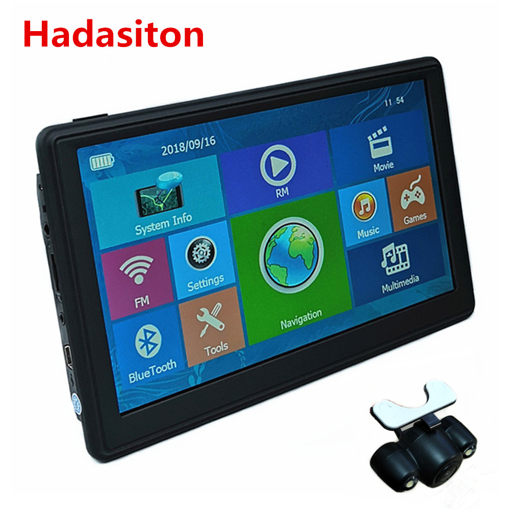 New 7 Inch Capacitive Screen Car GPS Navigation SAT NAV CPU800M 8G +free New Maps,wireless Rearview Camera Optional