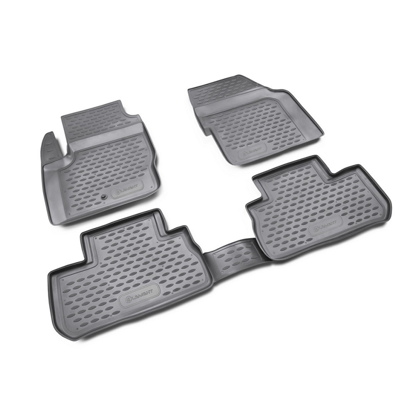 Mats in the salon For LAND ROVER Freelander 2007-01/2013, 4 PCs (polyurethane) mats in the salon for cadillac cts 06 2007 4wd 4 pcs polyurethane