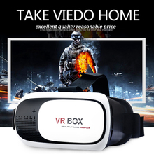 3D VR BOX 2.0 Upgraded Environmental Comfortable Materials Virtual Reality 3D Glasses+Wireless Gamepad Myopia User Support