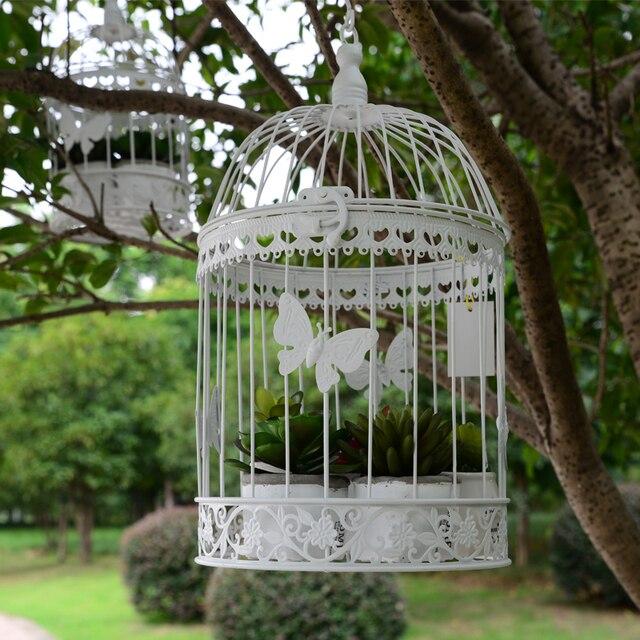 25x14 Cm Vintage Vogelkafig Metall Dekoration Prop Vogelnest