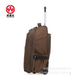 Rädern Roll Rucksäcke Reise trolley rolltaschen Männer Nylon reisetrolley Luggagebag Business gepäck koffer auf rädern-in Reisetaschen aus Gepäck & Taschen bei  Gruppe 3