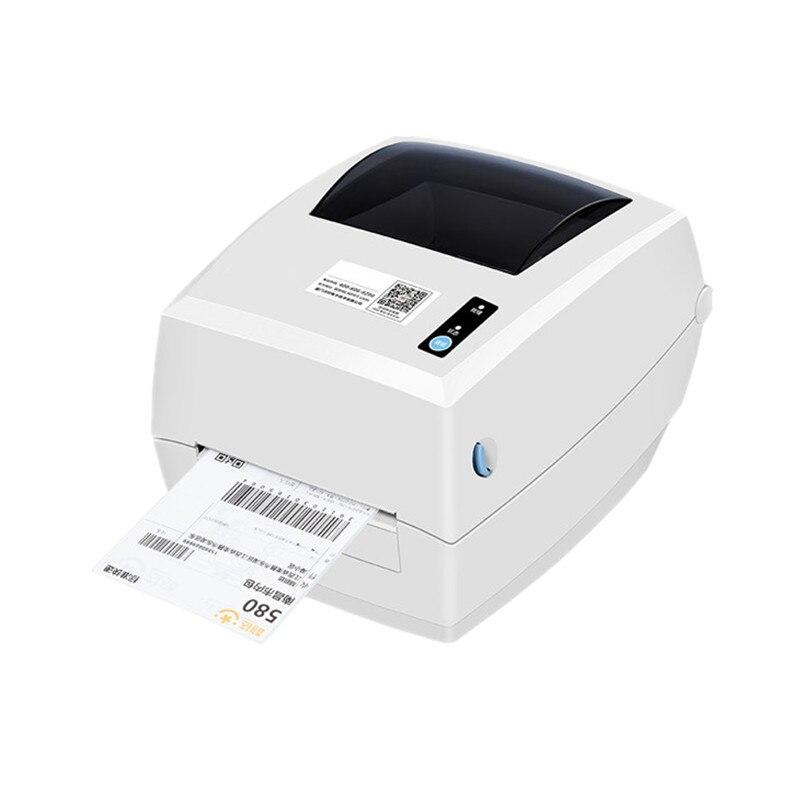 NOUVEAU D45 express feuille de route électronique surface étiquette imprimante thermique imprimante de code à barres thermique papier étiquette adhésive collante imprimante