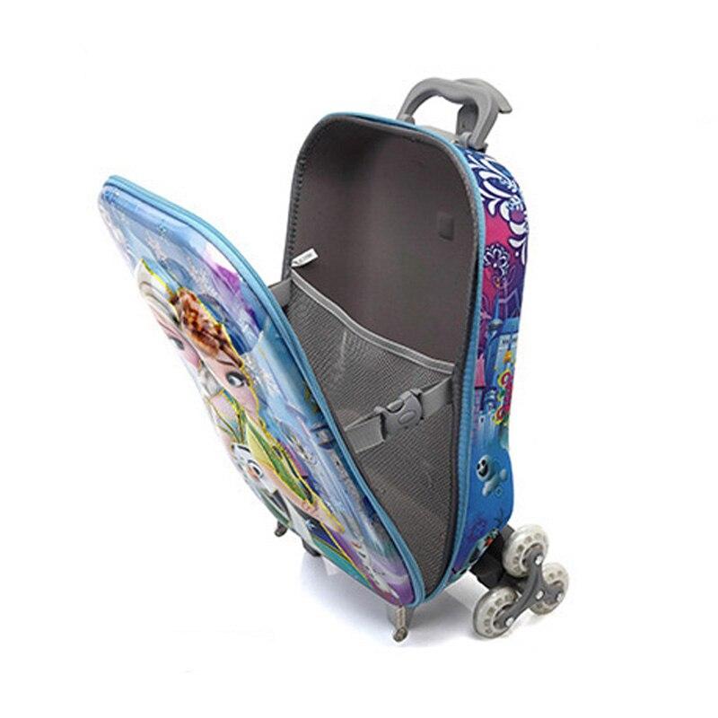 JXSLTC Дети Роллинг Сумка для мальчика троллейбус случае мультфильм детские школьные Mochilas школьная сумка тележка малыша сумки с колесами