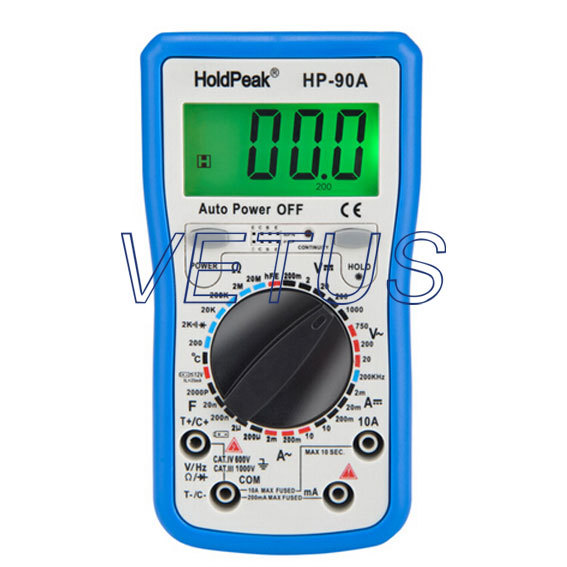 Manual Range best digital multimeter digital AVO meter HP-90A HP90A mini multimeter holdpeak hp 36c ad dc manual range digital multimeter meter portable digital multimeter