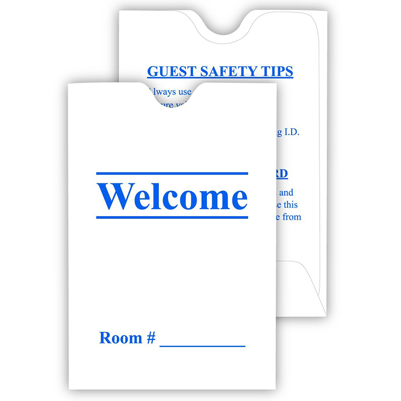 2017 Hotel Room Key Card Holder Customized Order Accepted