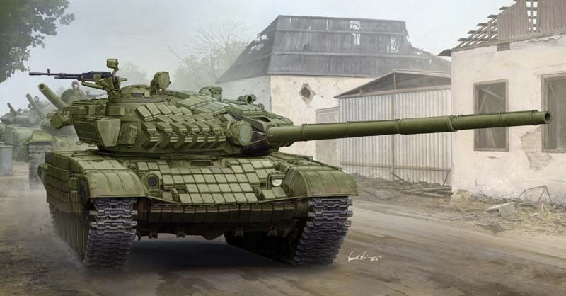 Trumpeter 09548 1/35 Russian T-72A Mod. 1985 MBT Model Kit