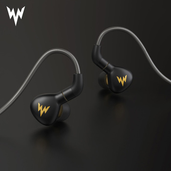 A15 Pro HiFi Bass Hi res Earphones Metal In Ear Headsets Dynamic Hi-res Earbuds with MMCX Connector 3.5mm Sport Bass Earphones