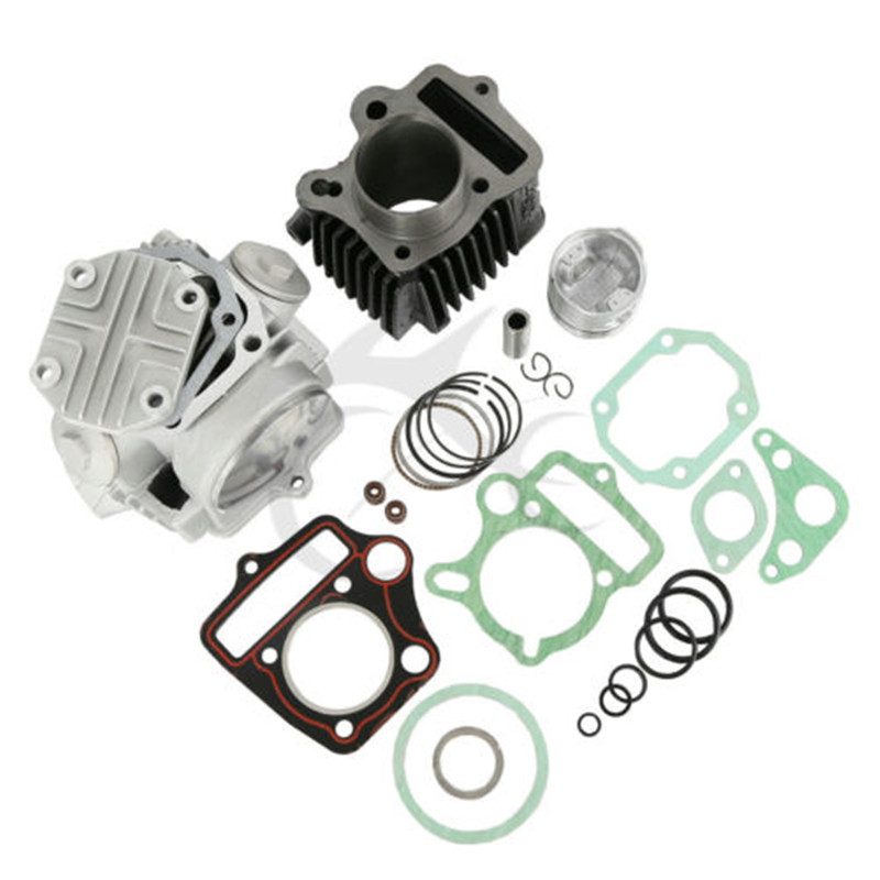 Cylinder Piston Gasket Engine Rebuild Kit For Honda 70CC CRF70 ATC70 XR70 TRX70 49.5CM3 Motorcycle ahl motorcycle head cylinder gaskets engine starter cover gasket & oil seal kit for honda vt250 magna 250 racing replacement