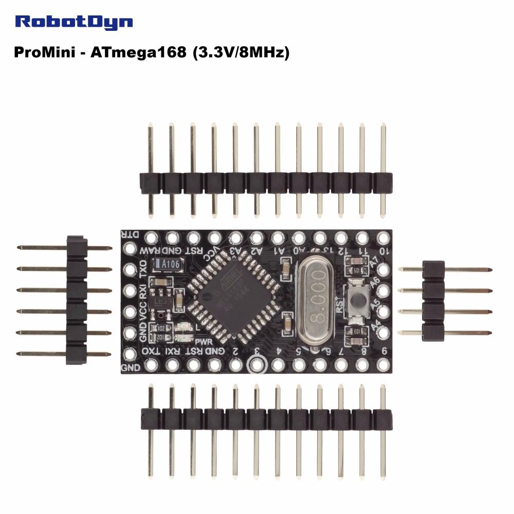 Электронные компоненты и материалы ATmega168 3,3 , Arduino ProMini