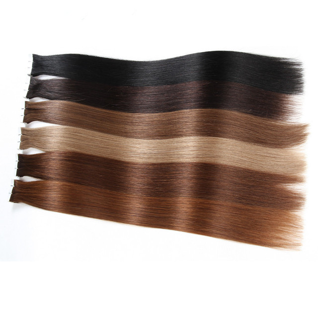 Brazilian Straight Skin Weft 100% Human Salon Hair Extension