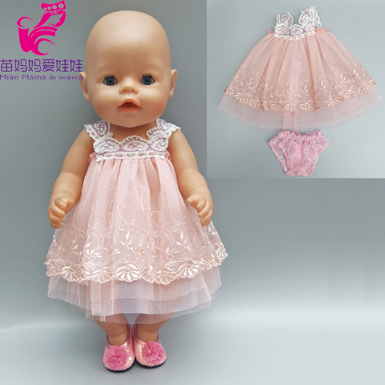 8d4ab84b4c US $1.25 17% OFF For 43cm Baby doll evening dress fur shawl set for 18 inch  girl doll outfits children play gitt-in Dolls Accessories from Toys & ...