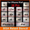 8pcs Lot IC Chip BGA Reballing Stencil Kits Set Solder Template For Iphone 4 4s 5