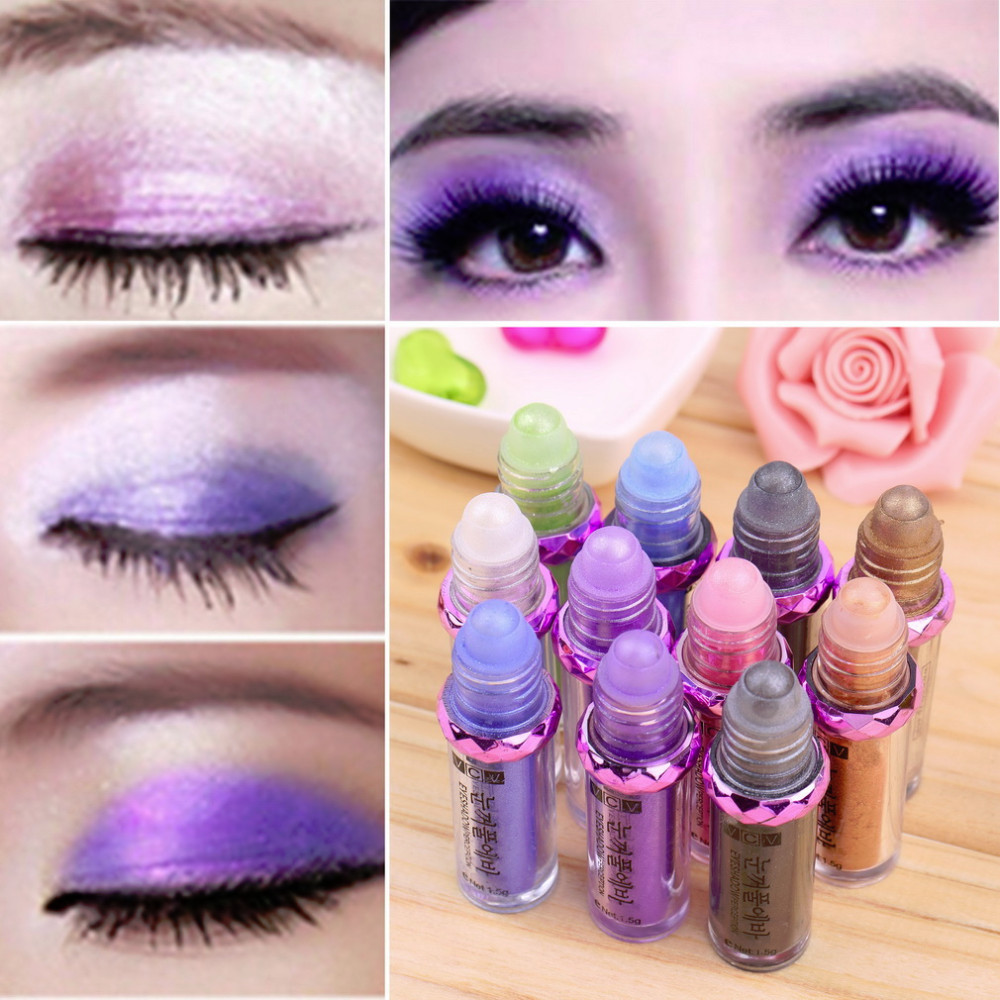 Hot Sale Makeup 11 Colors Eyeshadow Natural Luminous Warm Color Make Up Ball Glitter Fluorescence font