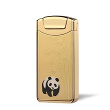 New Creative Shake Ignition Arc Pulse Ligther USB Charge Electronic Cigarette Lighters Colorful Metal Windproof Lighter mecheros