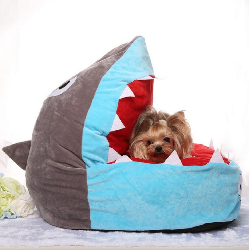 dog shark bed - 28 images - shark dog bed fido needs that ...