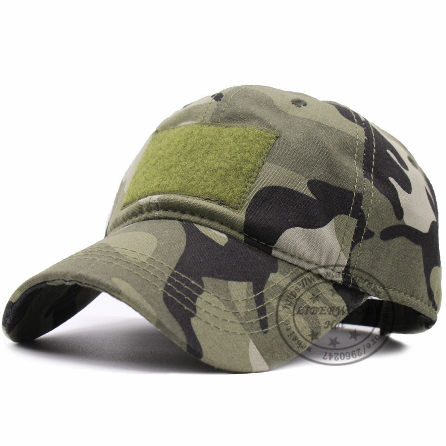 d1fbf6858cf Flex Fit Tactical army Cotton Cap Army Multicam Camouflage caps Operator hat  Outdoor Hunting with loop for Patch Green  camo-in Baseball Caps from  Apparel ...