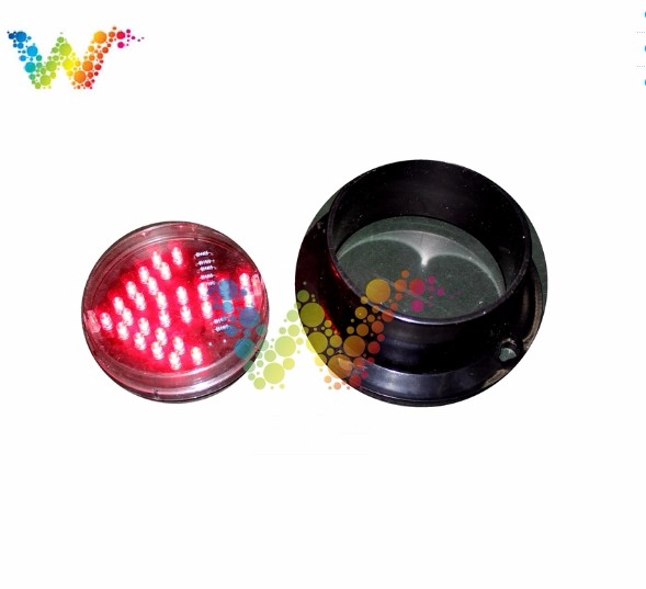 Traffic Arrow Light Module 5 Inch 125MM Red Color Car Washing Signal DC 12V Parking Light