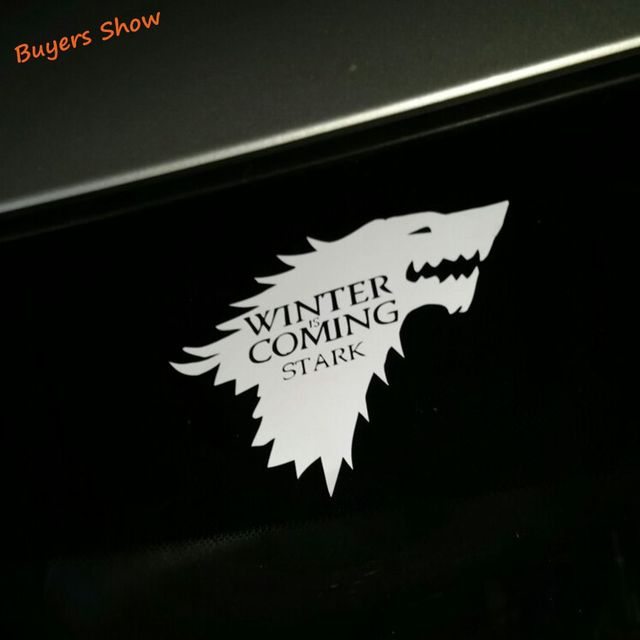 House Stark Vinyl Sticker